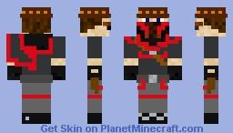 Mortal kombat 11 Young Erron Black (peck of trouble skin) Minecraft Skin