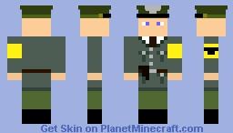 Auxillary Police (WW2) Minecraft Skin
