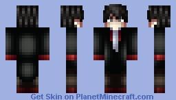 Vampire Slayer Minecraft Skin