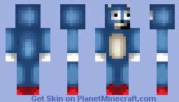 Sanic Boi (MLG) Minecraft Skin
