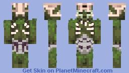 Golgari Swarm zombie Minecraft Skin