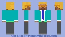 Johnson bellic skin in young Minecraft Skin
