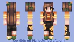 a glow in the night - day 1 Minecraft Skin