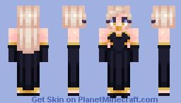 Black Gown - vσятεxυαℓ Minecraft Skin