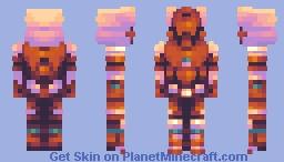ZS | Scorch Minecraft Skin