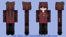~ S t e a m p u n k ~ // D a y 1 0 // Skintober Minecraft Skin