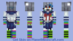 """yeah i listen to 100gecs how could you tell??"" Minecraft Skin"