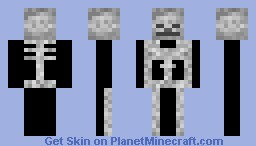 Skeleton (100 downloads special) Minecraft Skin