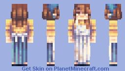 Springtime Baking Minecraft Skin