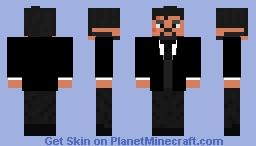Sir Topham Hatt Jr. (Thomas & Friends) sir Thin Controller Minecraft Skin