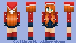Fox's Christmas Minecraft Skin