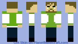 ben 10 from ben one last time Minecraft Skin