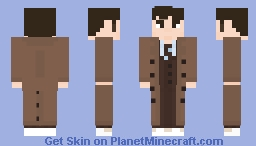Doctor Who - The Tenth Doctor Minecraft Skin