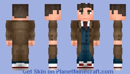 The 10th Doctor | Doctor Who Minecraft Skin