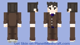 The storm that comes ~ 10th Doctor🌟 Minecraft Skin