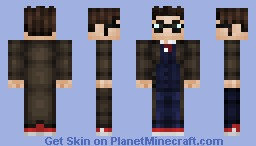 10th Doctor Minecraft Skin