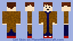 Doctor Who (10th Dr) Minecraft Skin