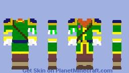 Adventurer costume Minecraft Skin