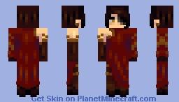 Cinder Fall // RWBY Minecraft Skin
