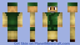 11. CabbageMerchant ( Avatar - The Last Airbender ) [ Finale in SkinSeries, BackStory ] Minecraft Skin