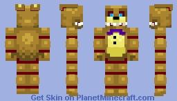 Into the pit SpringBonnie Minecraft Skin
