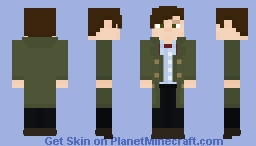 Doctor Who - The Eleventh Doctor Minecraft Skin