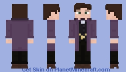 The Eleventh Doctor [Series 7b 50th Anniversary Outfit] Minecraft Skin