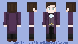 I hate it when things end ~ 11th Doctor 🌟 Minecraft Skin