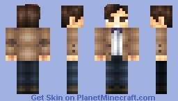 11th Doctor- Matt Smith (Doctor Who 50th Anniversary Skin Series) Minecraft