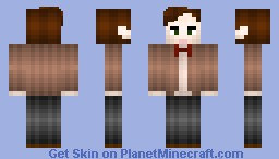 11th Doctor Minecraft Skin