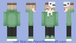💚 Dream Human Form 💚 Minecraft Skin
