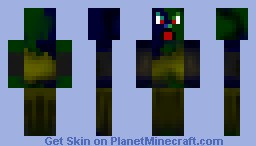 Infected Dude Minecraft Skin