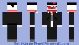 Hank J. Wimbleton (Antipathy but damaged) Minecraft Skin