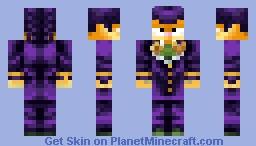 Garfield Josuke Minecraft Skin