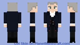 The Twelfth Doctor [Series 8 Outfit] Minecraft Skin