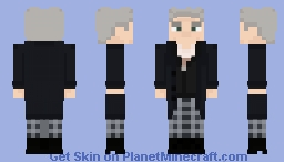 The Twelfth Doctor [Series 9 Outfit] Minecraft Skin