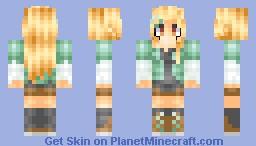 Blond Minecraft Skin
