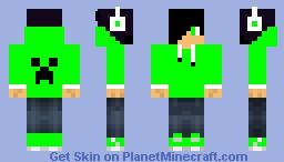 Dj Hoodie Minecraft Skin
