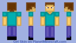 plastic steve easy to break be carefull Minecraft Skin