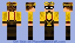 Steam Punk 8th DoctorJ skin Minecraft Skin