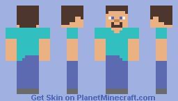 SimpleCraft Steve Minecraft Skin