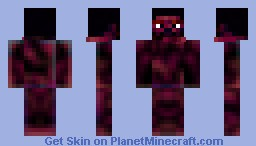Burnt Steve Minecraft Skin