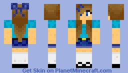 girl steve Minecraft Skin