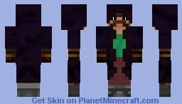 Manlier Mustache [1.8] [Animated Player] Minecraft Skin