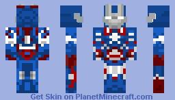 Iron Patriot Minecraft
