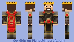 The Red King Minecraft Skin