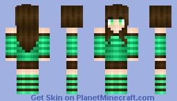 Mint leaf Minecraft Skin