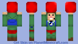 Tingle and His Balloon Minecraft Skin