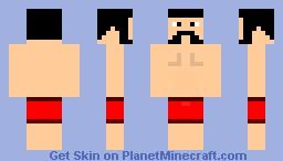 Lightweight Boxer Minecraft Skin