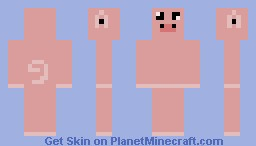 Derpy Pig Minecraft Skin
